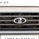 Решетка радиатора Lada 4×4 Urban