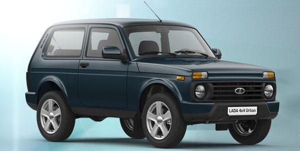 Lada 4×4 Urban цвет кузова Одиссей