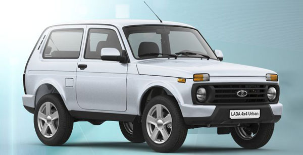 Lada Urban цвет кузова Снежная королева
