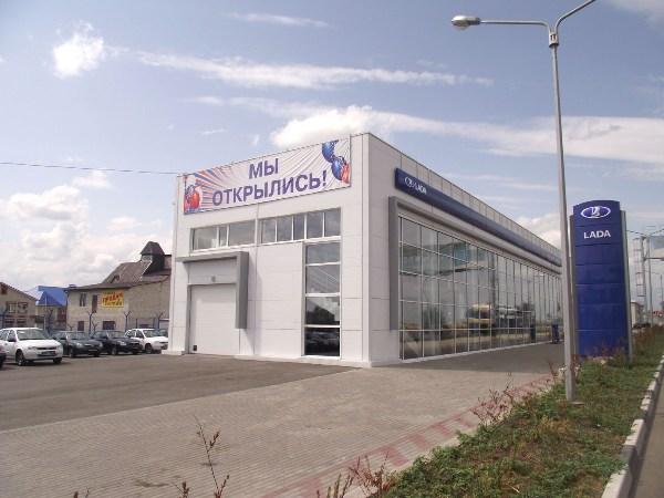 Автосалон Нива Урбан в Белгороде