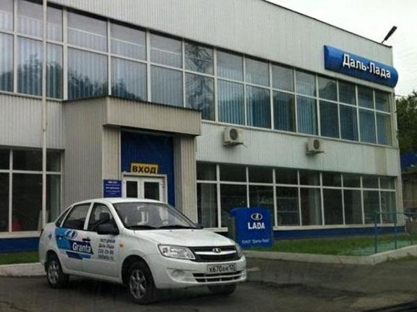 Автосалон официального дилера Нивы Урбан в г. Владивосток